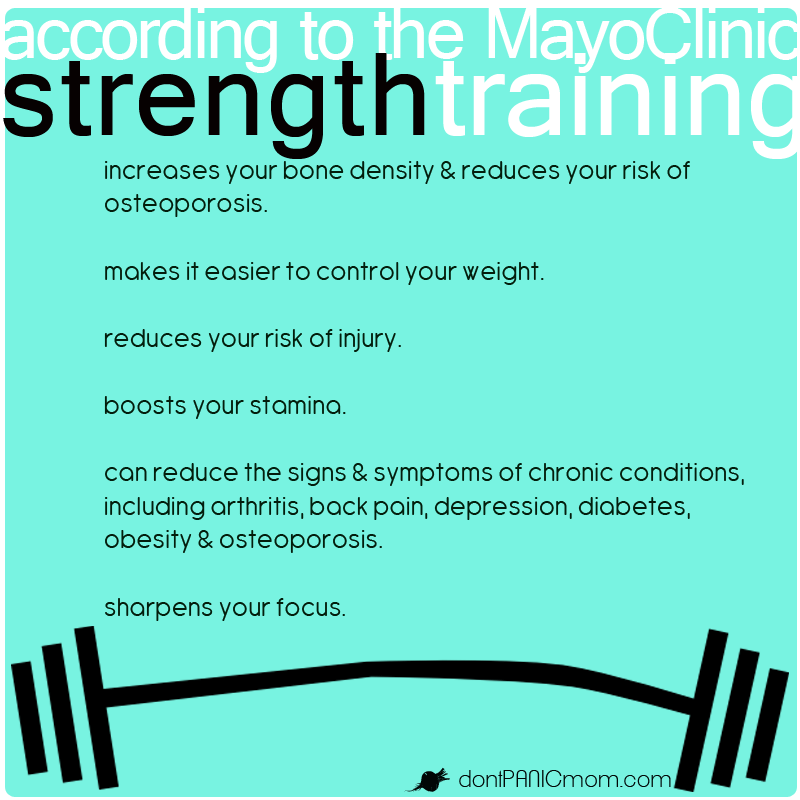 Do you need reasons to start strength training?
