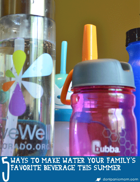 Water is cheap and won't stain. Plus, it's the best beverage option for your whole family this summer. Check out how this family went from soda to water as the norm. From Don't Panic Mom.