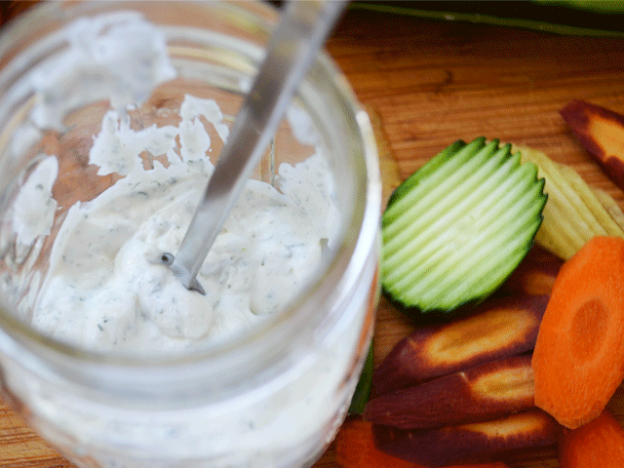 Creamy Ranch Dressing and Dip