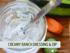 Creamy Ranch | Don't Panic Mom