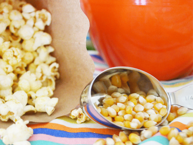 Chipotle Garlic Popcorn