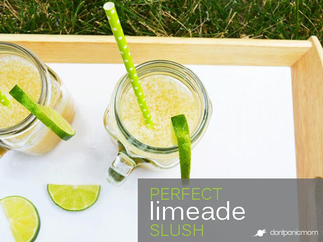 Perfect Limeade Slush | Don't Panic Mom