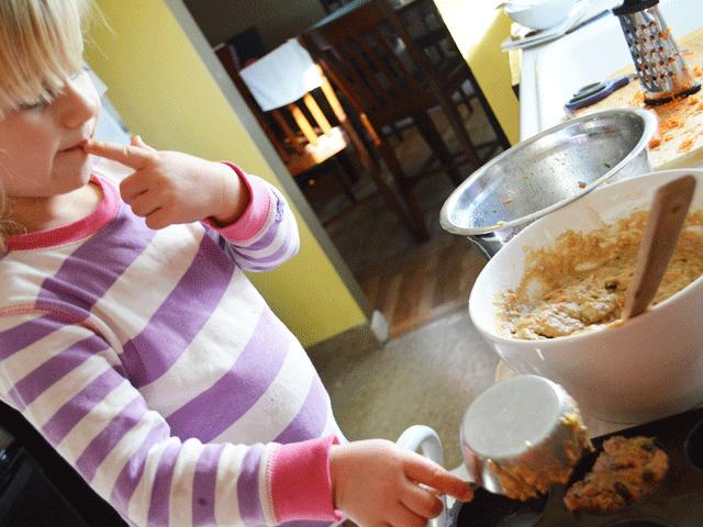 Carrot Zucchini Raisin Muffins   Don't Panic Mom