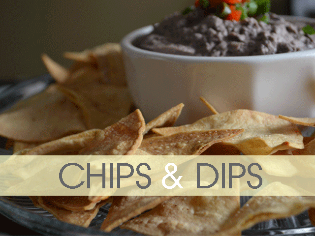 Awesome collection of DIY Chips and Dip. Yummmm....