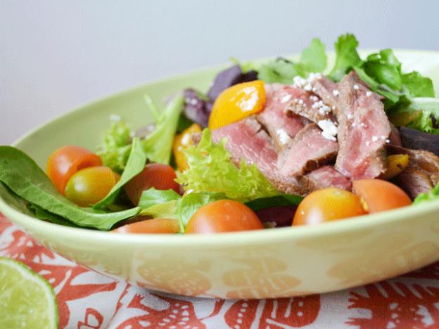 Chipotle Ribeye Fajita Salad