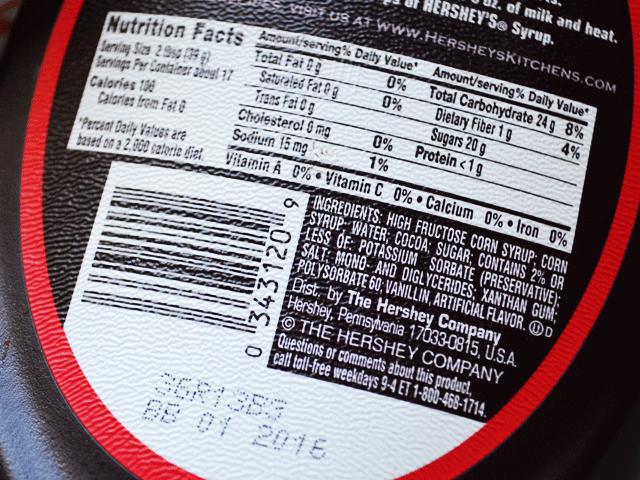 HersheysIngredients