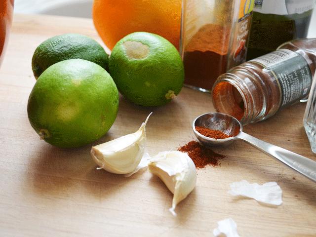 Marinade-Ingredients