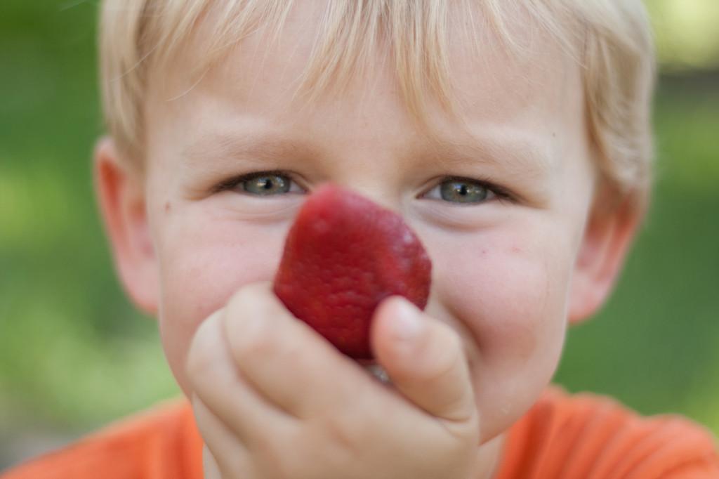 big p strawberry nose