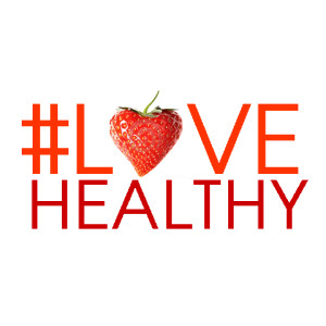 Let's #LoveHealthy on Valentine's Day! Strawberries, Red Bell Peppers, Cherries, Grape Tomatoes, Watermelon.....