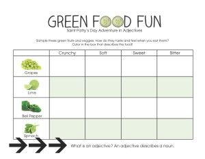 Green Food Fun with Images