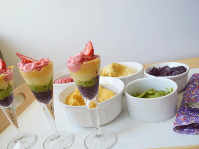 Easy Rainbow Banana Ice Cream | Don't Panic Mom