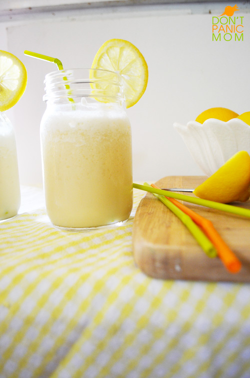 Frosted Lemonade @dontpanicmom