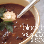 #Easy Black Bean Soup from LiveWell Colorado Mom, Kim Daly
