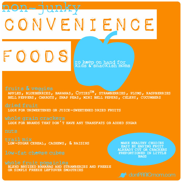 Non-Junky Convenience Foods