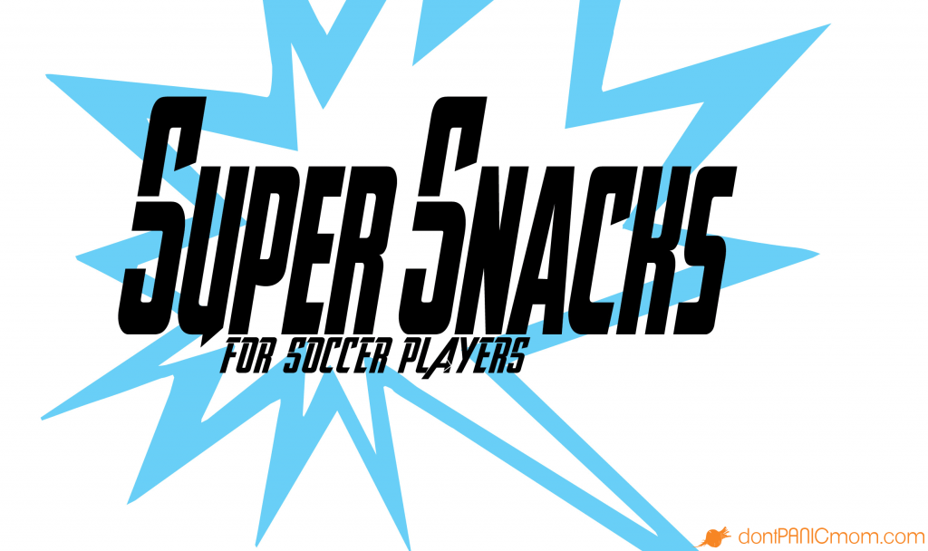 What I'm doing to bring snack-sanity to the soccer field. Thanks for the good information Sally from Real Mom Nutrition.