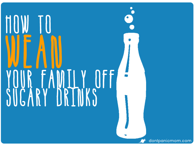 Need help getting your kids to drink something besides Capri Sun or powdered lemonade? Don't Panic. Check out this post from Don't Panic Mom.