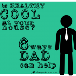 Father's Day is just around the corner. Learn some fun ways that Dads can make a healthy home with these six ideas // Don't Panic Mom