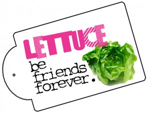Lettuce Be Friends