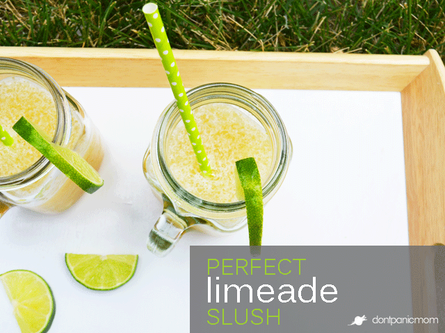 Perfect Limeade Slush | Don't Panic Mom