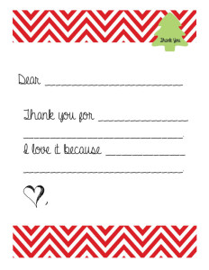 christmas thank you template for kids dont panic mom