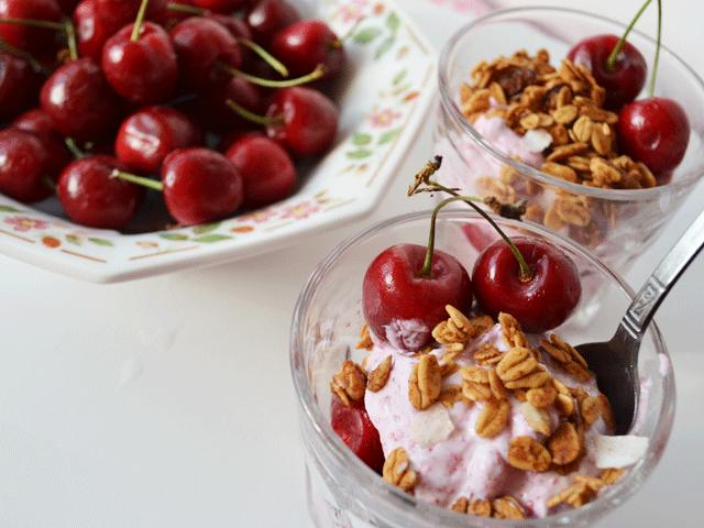 Berry Cherry Parfait